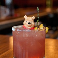 """Step-by-step instructions for making Jay Schroeder's PEZ cocktail """"You can imagine sipping it out of a Juicy Juice box,"""" said Jay Schroeder of his genever-based Declaration of Neutrality."""