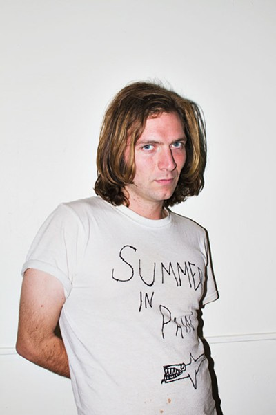 "You can sort of tell that Jimmy wears his ""Summer in Pain"" T-shirt every day. - TODD DIEDERICH"