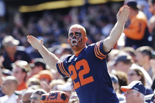 You dont see this Bears fan panicking, do you?