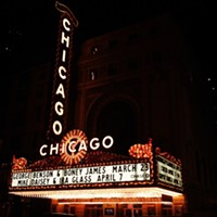 Chicago Theater, as featured in the opening credits to Perfect Strangers.  Anjali Pinto; anjalipinto