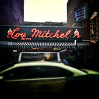A cloudy day in front of Lou Mitchell's or Instagram effects? Who cares—it looks cool!  Anjali Pinto; anjalipinto
