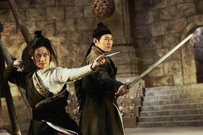Zhou Xun and Jet Li star as mysterious lone warriors.