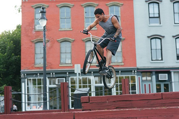 A BMX Rider in Kingston - THOMAS SMITH