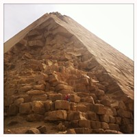 Egypt's Pyramids and Temples A pyramid. Jason Stern