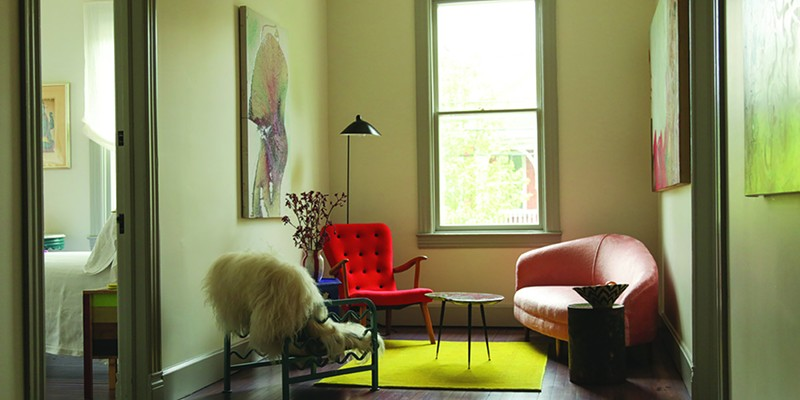 Classic Fantastic A sitting room at Hotel Tivoli. Jesse Turnquist