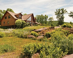 A Spacious Log Home in Chichester