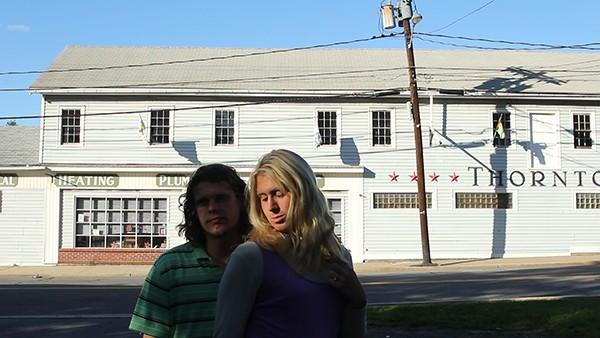 A still from Passing Ellenville.