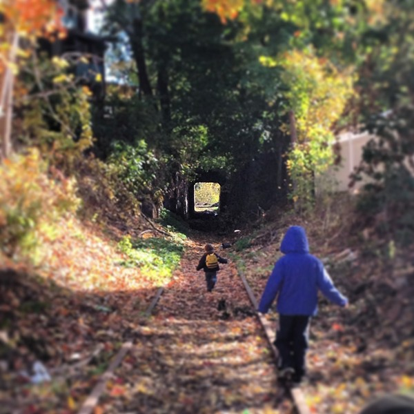 A Sunday Hike on the Kingston Greenline - HILLARY HARVEY