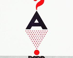 """""""Abracadabra–return to title page,"""" Werner Pfeiffer, artist's book, 2007"""