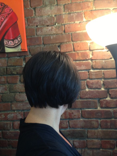 After Short hairstyle by Trends Hair Salon