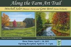 PAINTINGS BY MITCHELL SALER AND GENE BOVÉ - Along the Farm Art Trail - Paintings by Mitchell Saler and Gene Bové