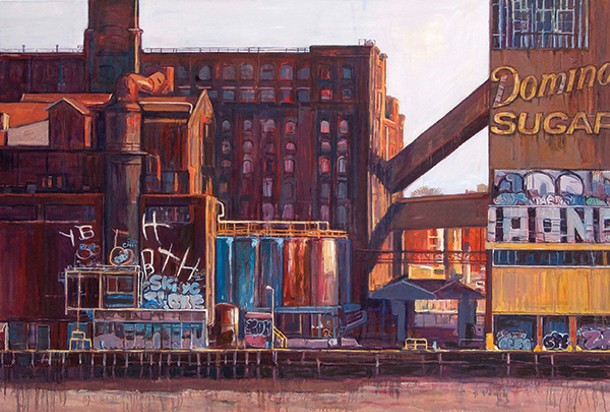 Andrew Barthelmes, Domino Sugar Refinery, 2013
