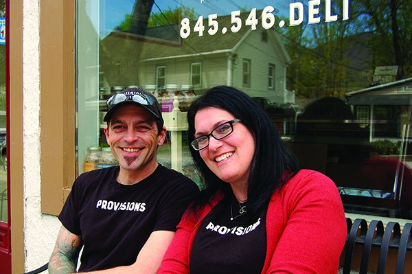 Anthony Heaney and Emily Sherry-Bonilla, co-owners of Provisions