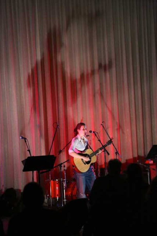 Antje Duvekot plays at the Beacon Music Factory during Beacon Winterfest on March 2.