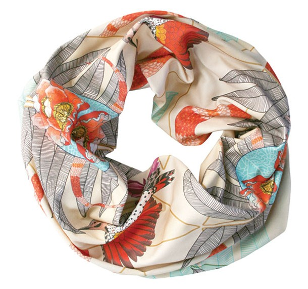 Ash and Anchor's single-loop infinity Anodyne scarf ($59).