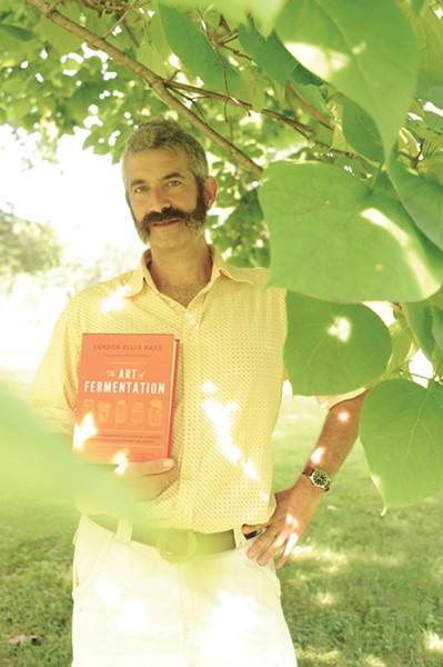 Author and fermented food advocate Sandor Katz. - KELLY MERCHANT