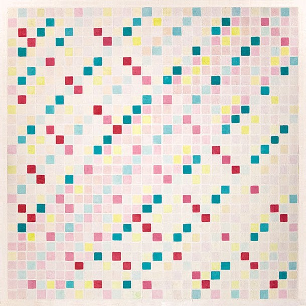 Avoiding Chaos, 36x36, Oil Stick on Panel, Ivan L. Sanford