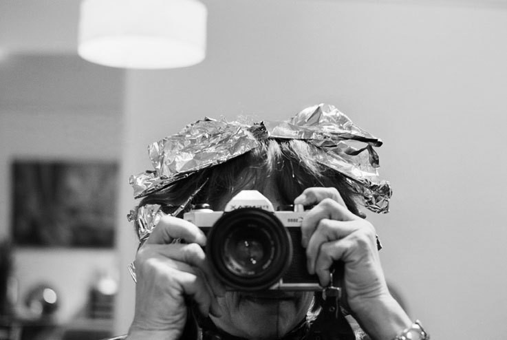 Barbara Ethan, self-portrait, 2008.