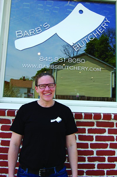 Barbara Fisher, owner of Barb's Butchery.