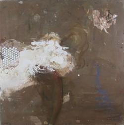 """BEN LA ROCCO - Ben La Rocco, """"Elegy 2,"""" 2014, oil on masonite, 48 x 48 inches"""