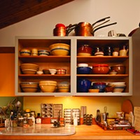 Recipe for Living Betsill's collection of copper pots, vintage bowls, and culinary implements. Deborah DeGraffenreid