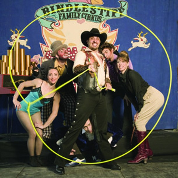 Bindlestiff Family Cirkus Cabaret will perform at Club Helsinki in Hudson on June 30.