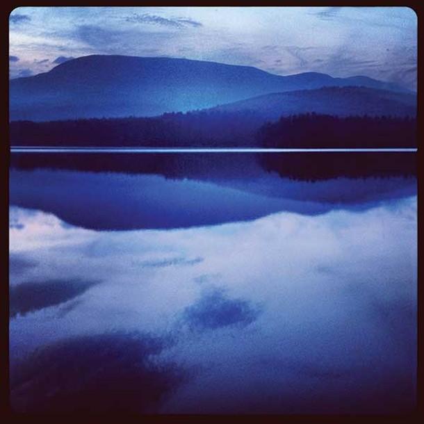 Blue Mink Hollow from Cooper Lake, Dan Goldman, photograph, 2013