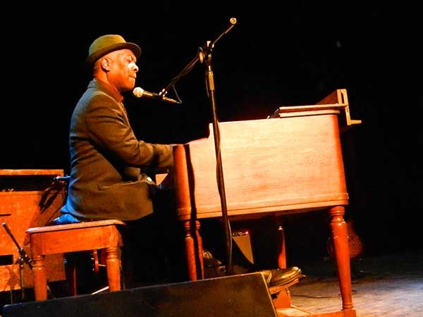 Booker T. Jones played Bearsville Theater on March 9.