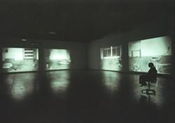 PHOTO: STUART TYSON - Bruce Nauman, Mapping the Studio I (Fat Chance John Cage), 2001. Dia Art Foundation; Partial Gift, Lannan Foundation, 2013.