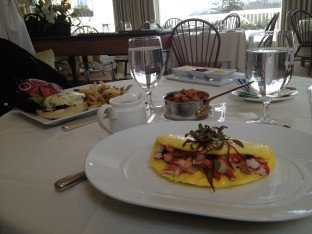 Bruch for Two at The Valley Restaurant