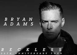 "PROVIDED BY BETHEL WOODS CENTER FOR THE ARTS - Bryan Adams ""The Reckless Tour"""