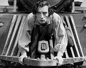"""Buster Keaton in """"The General"""""""