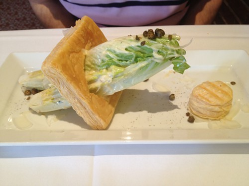 Caesar Salad as Art