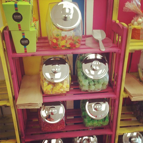 Candy for sale by the pound at Kingston Candy Bar