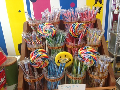 Candy Sticks for sale at Kingston Candy Bar