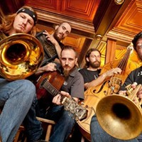 Carrie Nation and the Speakeasy Play Kingston Tonight