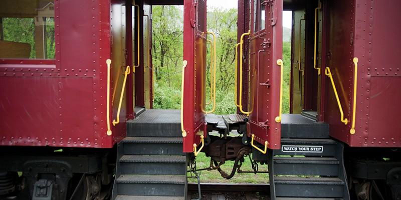 Woodstock, Mount Tremper, and Phoenicia Catskill Mountain Railroad, Mount Tremper. Roy Gumpel