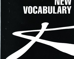 CD Review: New Vocabulary