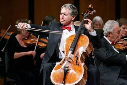 Cellist Yehuda Hanani.
