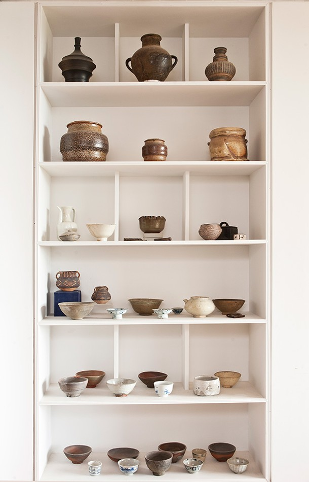 Chaleff and Kim's pottery collection ranges from pieces from 4,500 BCE to work by contemporary Americans like Karen Karnes. - DEBORAH DEGRAFFENREID