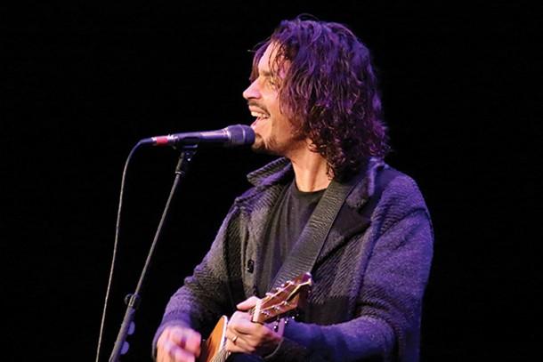 Chris Cornell performing at UPAC on November 15. - GINA PEREZ