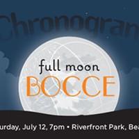 Chronogram Full Moon Bocce on July 12