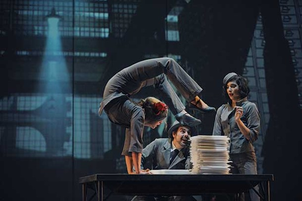 "Cirque Éloize brings ""Cirkopolis"" to Proctor's Theater in Schenectady this month."