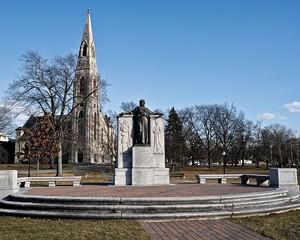 Civil War Memorial in Goshen.
