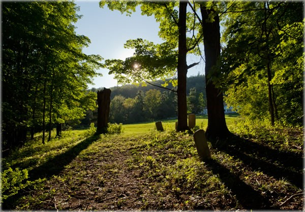Clove Valley Cemetery on the Grandmother Land in High Falls - ERIC FRANCIS COPPOLINO