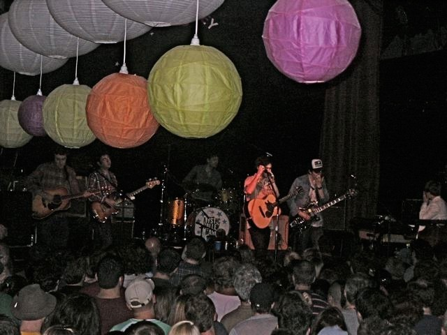 Conor Oberst and the Mystic Valley Band at the Bearsville Theater on July 2.