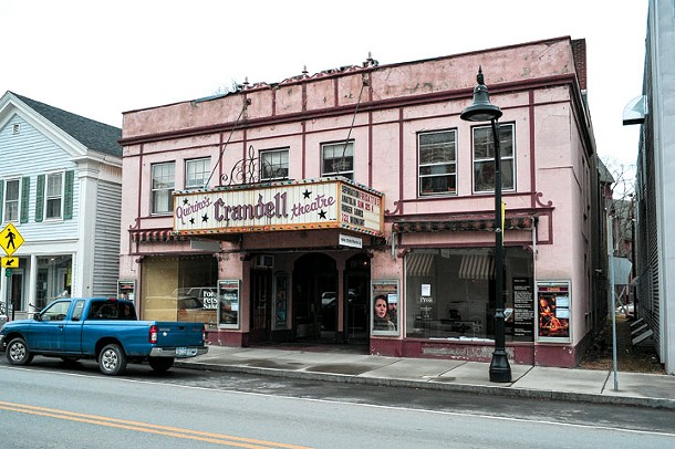 Crandell Theater in Chatham - DAVID MORRIS CUNNINGHAM