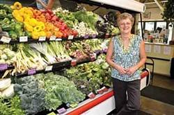 Dana Wagner, Hawthorne Valley Farm store manager. - DAVID CUNNINGHAM