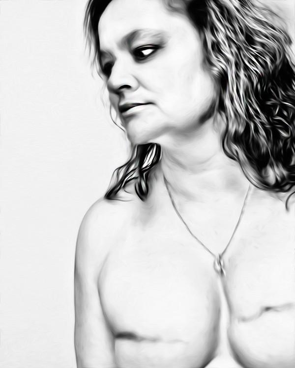 Deanna before her tattoo - TINA QUATRONI