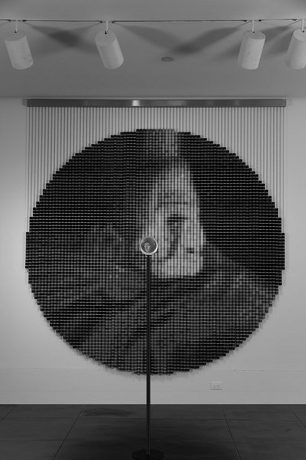 Devorah Sperber; 5,024 thread spools; 2006